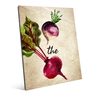 Turnip the Beet Vintage Wall Art Print on Acrylic
