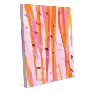 Birches Wall Art Print on Canvas