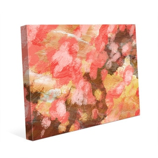 Emotion Pink Wall Art Print on Canvas