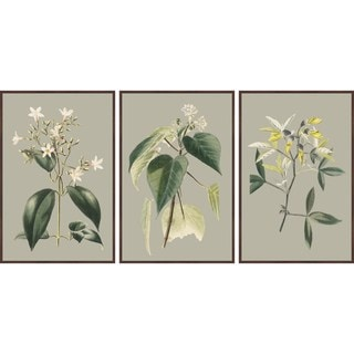Marmont Hill - Handmade Tiny Blooms Triptych