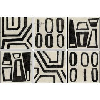 Symbols Hexaptych