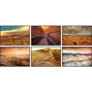 Desert Beauty Hexaptych