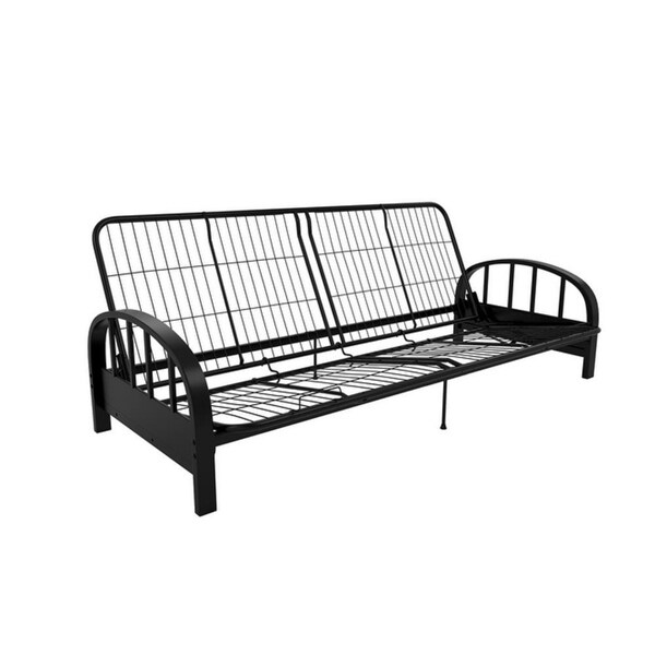 Silver Arm Futon Frame With Full Size