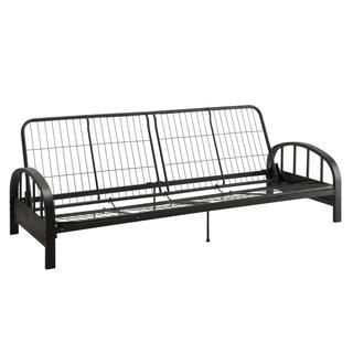 dhp aiden black futon frame option