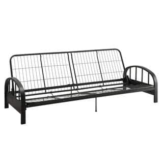 DHP Aiden Black Futon Frame|https://ak1.ostkcdn.com/images/products/14063360/P20676487.jpg?impolicy=medium