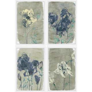 Undefined Blooms Quadriptych