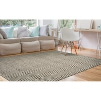 Couristan Nature's Elements Foothills/Straw-Timber Area Rug - 6' x 9'