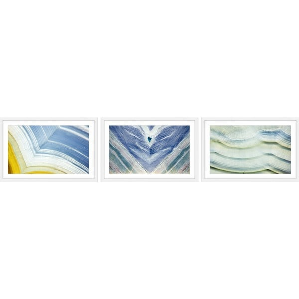 Layers of Color Triptych