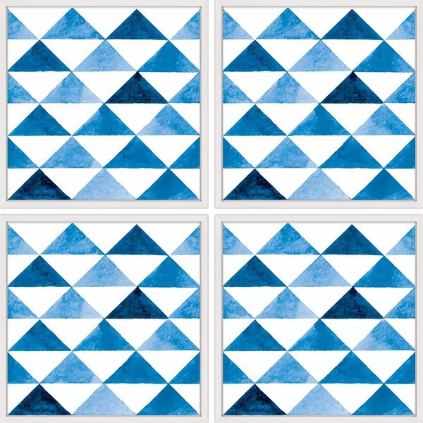 Marmont Hill - Handmade Triangle Board Quadriptych - multi. Opens flyout.