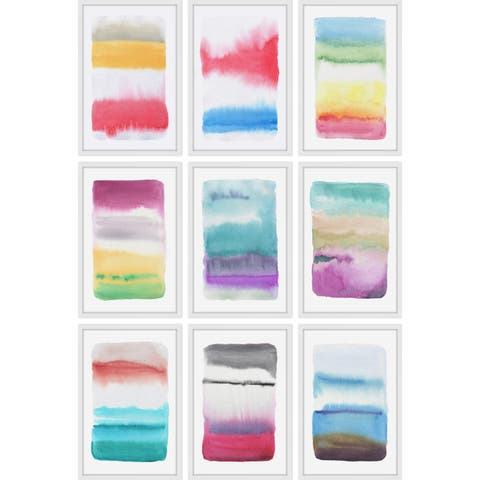 Marmont Hill - Handmade Blended Colors Polyptych
