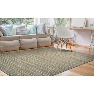 Couristan Nature's Elements Lodge/Straw-Taupe Area Rug - 6' x 9'