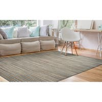 Couristan Nature's Elements Lodge/Straw-Grey Area Rug - 3' x 5'