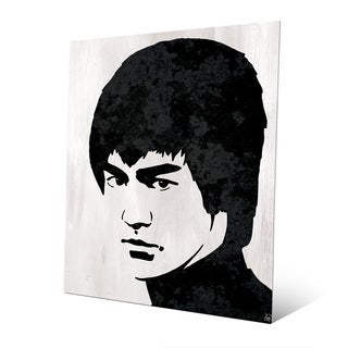 Bruce Lee Wall Art Print on Metal