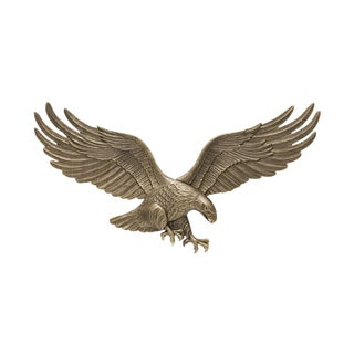 White Hall 29-inch Wall Eagle - Antique Brass