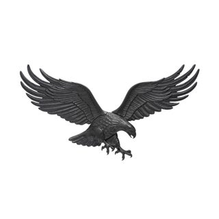 White Hall 36-inch Wall Eagle - Black