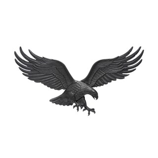 White Hall 36-inch Wall Eagle - Black