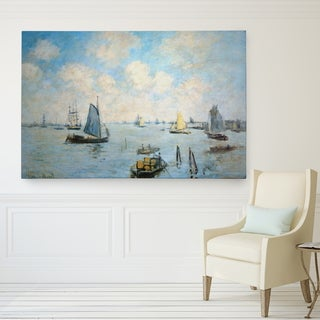 Wexford Home 'Sea at Le Havre' Giclee Canvas Art