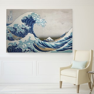 Wexford Home 'The-Great-Wave' Canvas Wall Art