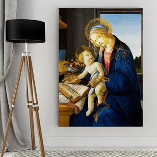 Wexford Home Sandro Botticelli's 'The Madonna' Giclee Canvas Wall Art