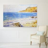 Wexford Home Sailing-At-Sainte-Adresse Canvas Wall Art