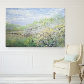 Wexford Home 'Apple Trees Blooming' Giclee Canvas Art