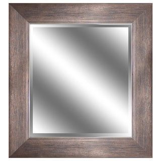 Mirror Bronze with Wood Grain Color Reflection