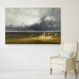 Wexford Home Georges Michel 'Stormy Landscape' Giclee Canvas