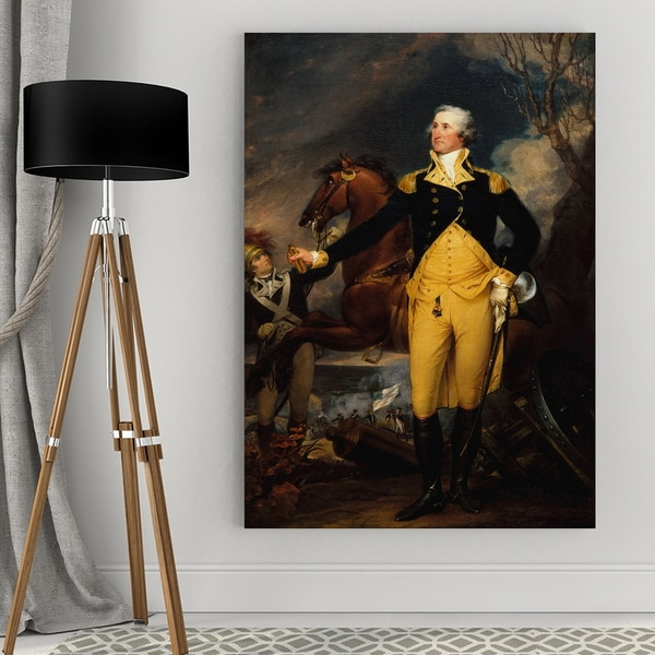 Wexford Home John Trumbull's 'Washington Battle of Trenton' Gallery Wrapped Canvas