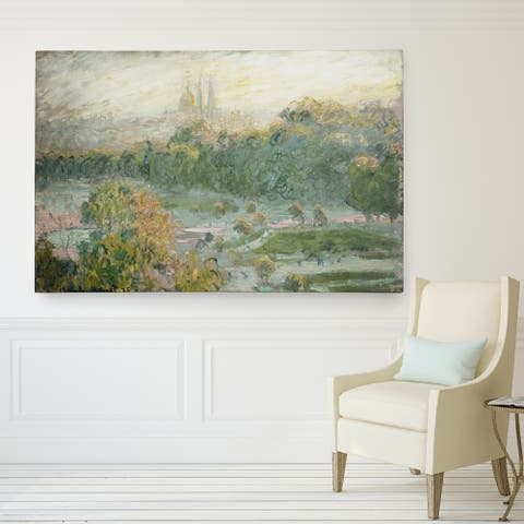 Wexford Home Claude Monet's 'Tuileries Study' Giclee Fine Wall Art