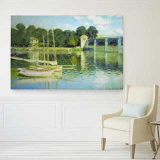 Wexford Home 'The Bridge' Giclee Wrapped Canvas Wall art