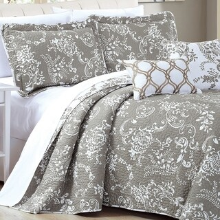 Link to Serenta 5 Piece Printed Microfiber LA Boheme Quilt Set Similar Items in Quilts & Coverlets