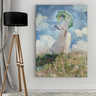 Wexford Home Claude Monet 'Study Of A Figure Outdoors' Giclee Print