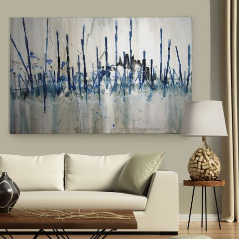 'Marsh's Edge' Gallery Wrapped Canvas Art