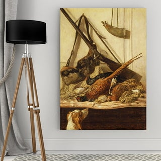 Wexford Home 'Hunting Trophies' Giclee Canvas Wall Art
