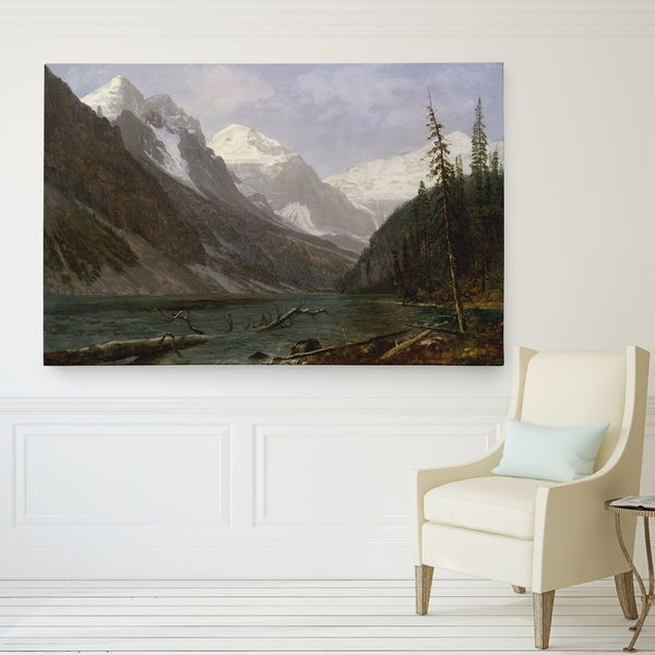 Wexford Home Canadian-Rockies Canvas Wall Art