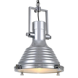 Journee Home 'Priddy' 20 in Hard Wired Iron Industrial Loft Pendant Light