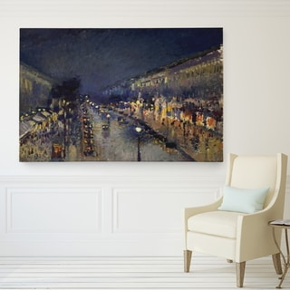 Wexford Home 'The Boulevard Montmartre' Giclee Canvas Wall Art