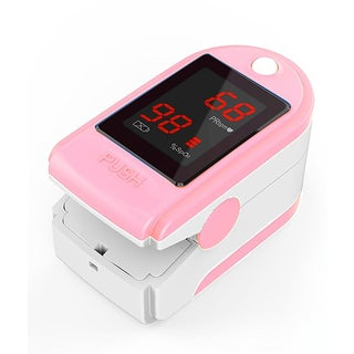Concord Basics Pink Finger Pulse Oximeter