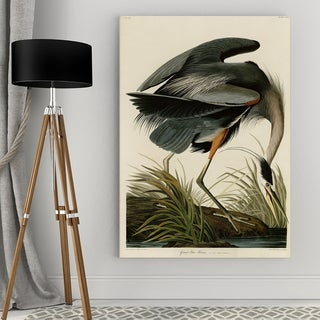 Wexford Home Great Blue Heron Canvas Wall Art