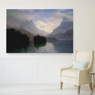 'Mountain-Scene' Wall Art