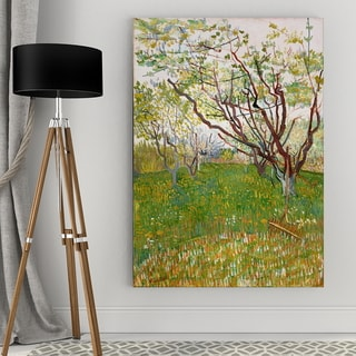 The Flowering Orchard Gallery Wrap Canvas