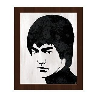 Bruce Lee Framed Canvas Wall Art Print