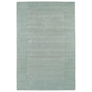 Borders Spa Hand-Tufted Wool Rug (9'6 x 13'0)