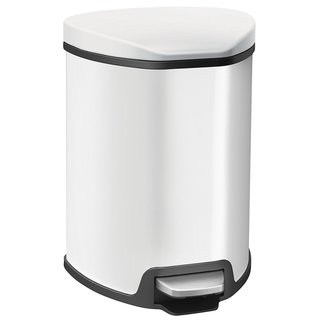 5L Grace Trash Can White