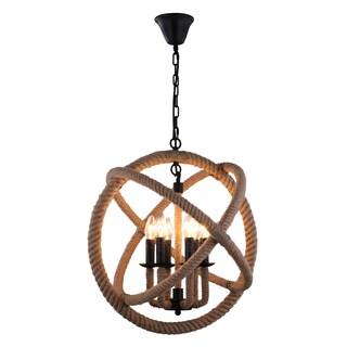 journee lighting. journee home u0027ouijau0027 14 in hard wired hemp rope orb pendant light with included lighting