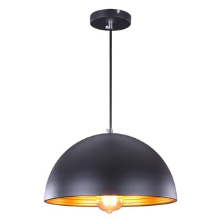 Journee Home 'Balder' 8 in Hard Wired Iron Dome Pendant Light