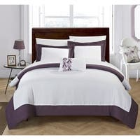 Chic Home 8-Piece Uma Bed In A Bag Duvet Set