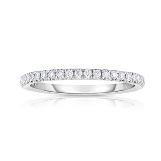 Eloquence 14k White Gold 1ct TW Diamond Eternity Band (I-J, SI3)