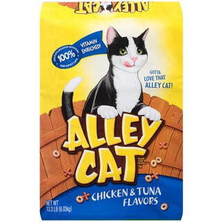 Alley Cat Chicken & Tuna Flavored Alley Cat Cat Food