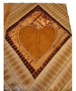 Handmade Pea Pod Heart Photo Album (Indonesia)